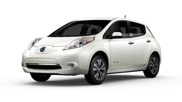2013-Nissan-LEAF-SL-Electric-Car