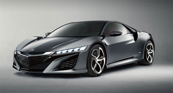 Acura NSX Concept presented at 2013 Pebble Beach Concours d'Elegance