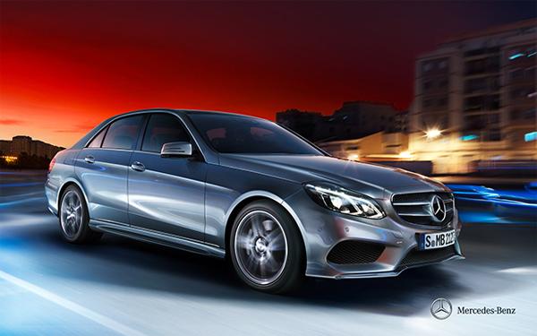 New Mercedes E Class