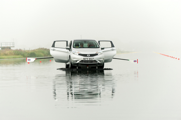 Nissan Note Boat in England