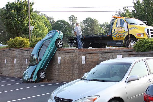 crashes on roads