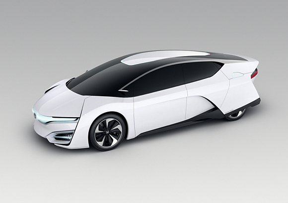 Honda FCEV Concept at the Los Angeles Motor Show