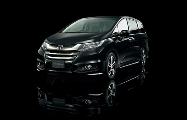 Honda Odyssey Absolute Premium Minivans in Japan