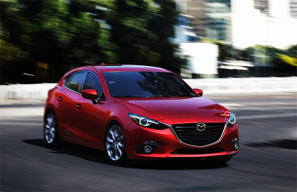 New Mazda 3 Hatchback