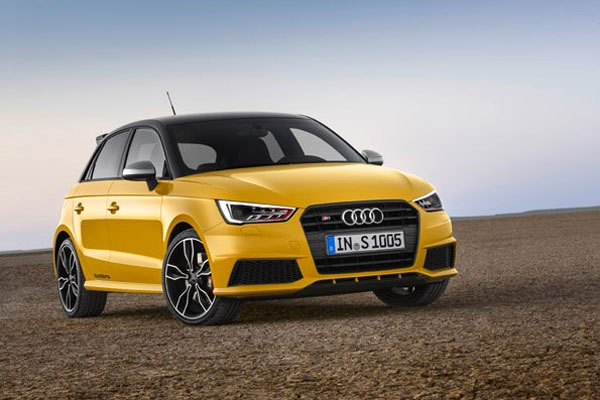 new audi s1 is now on the track cars flow. Black Bedroom Furniture Sets. Home Design Ideas