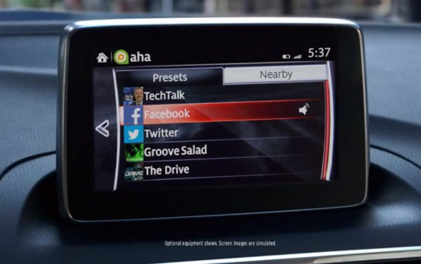 Mazda Ad Shows Facebook
