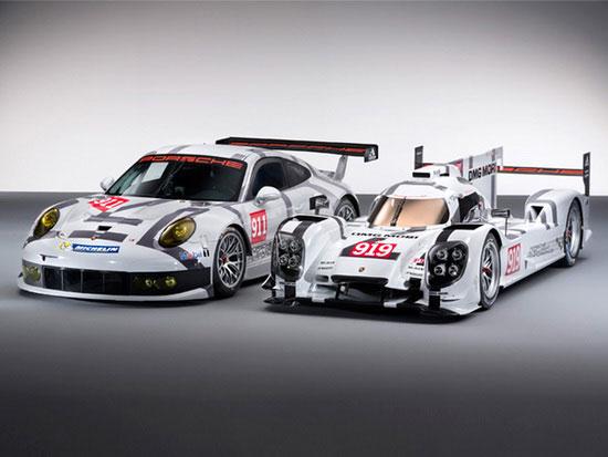 new Porsche 919 Hybrid