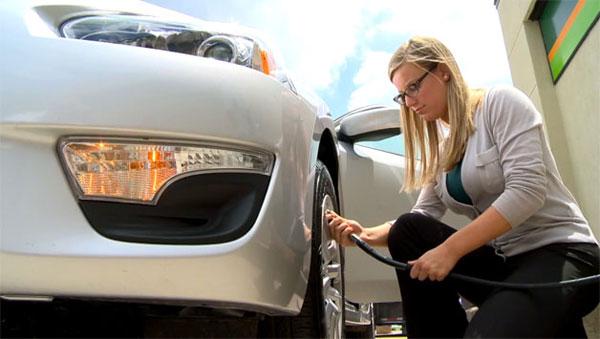 Maintain the correct tire pressure