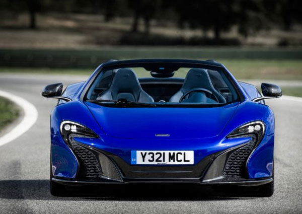 MSO 650S Spider supercar