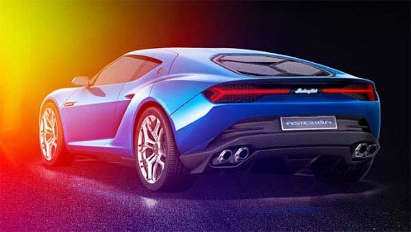 Lamborghini Asterion Hybrid Coupe Concept