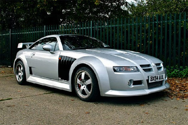 The Marvelous And Bizarre MG SVR Sportscar Moves For Auction - Sports cars 2005