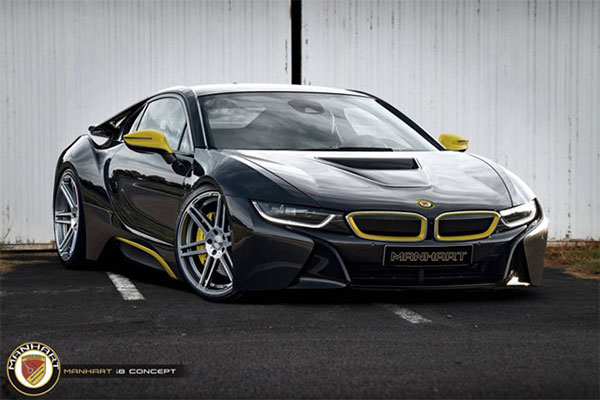 German Tuner Reveals A Customized Bmw I8