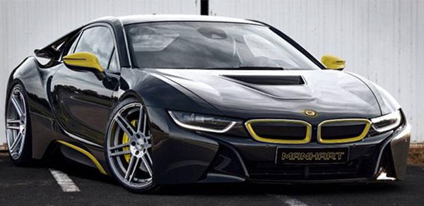 New BMW i8