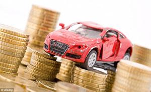 Crashing cars for cash