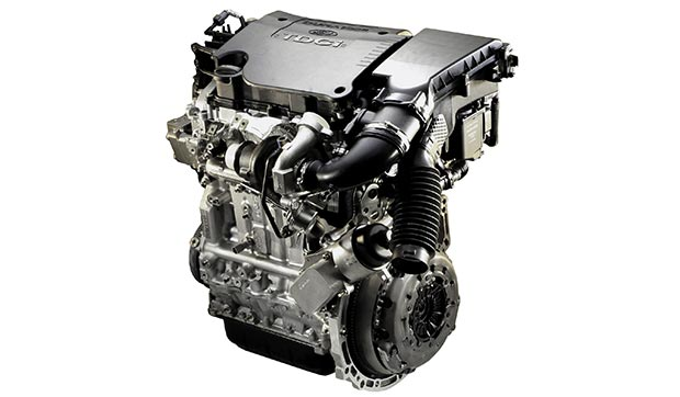 Powerful and fuel-efficient diesel engine