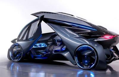 Chevrolet FNR Autonomous concept