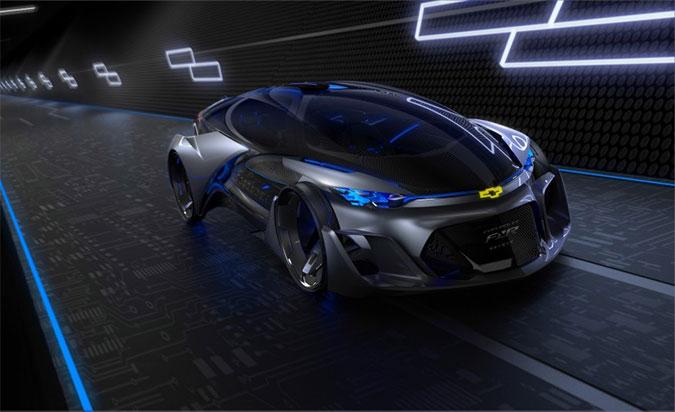 New Chevrolet FNR Autonomous concept