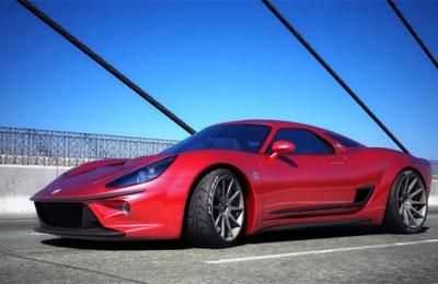 Ferrari V8-engined coupe