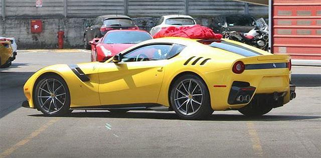 2016 Ferrari F12 GTO