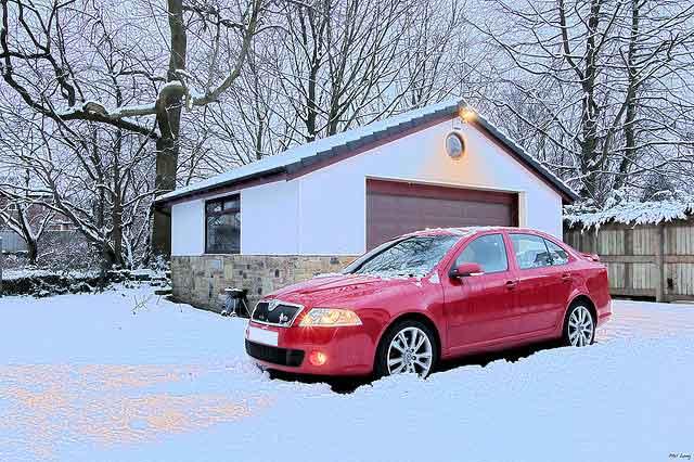 Car-in-Snow