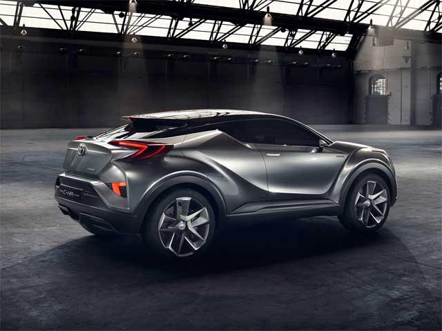 toyota c hr concept crossover cars flow. Black Bedroom Furniture Sets. Home Design Ideas