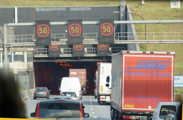 Breaking Down In Traffic