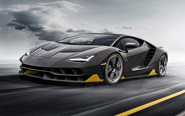 2017 Lamborghini Centenario Lp 770 4