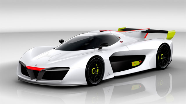 hydrogen fuel cell supercar