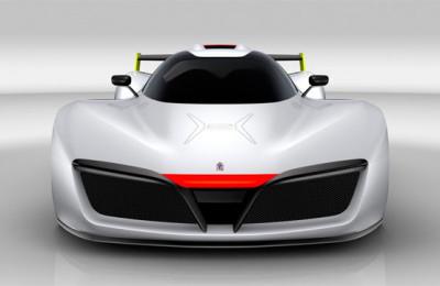 Hydrogen Supercar