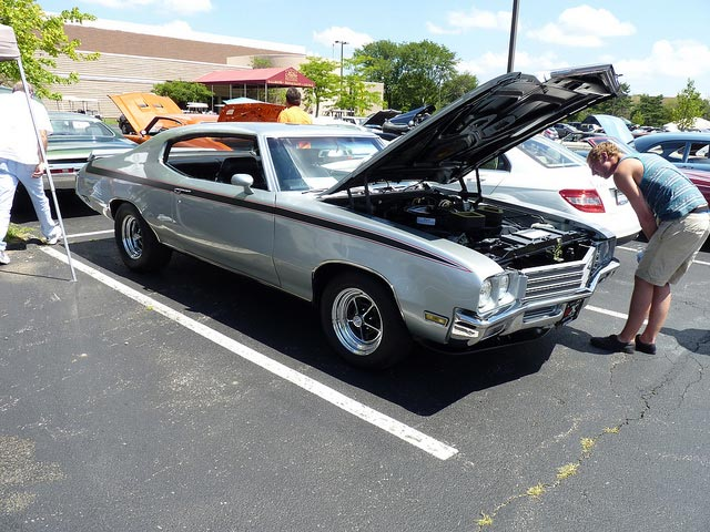 1971 Buick GSX with Stage-1 Performance Pack