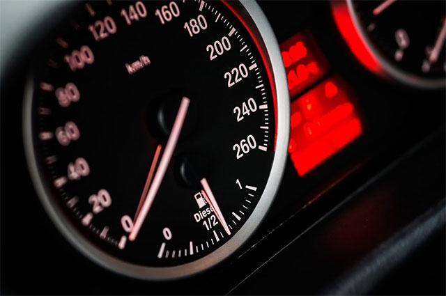 Car's Speedometer