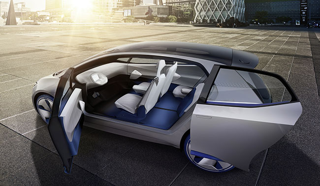 VW ID electric concept revealed