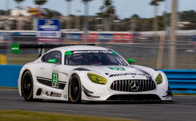 New Mercedes AMG GT3