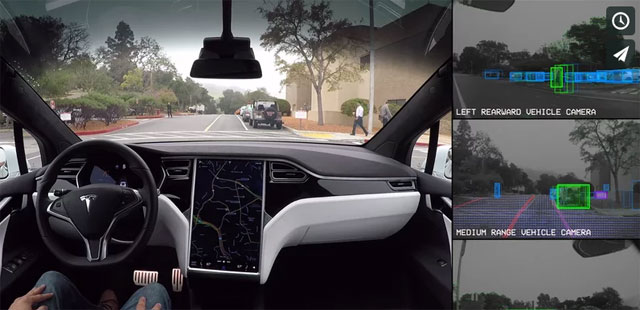 Tesla Autopilot Full Self-Driving Hardware