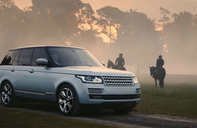 Land Rover electric car