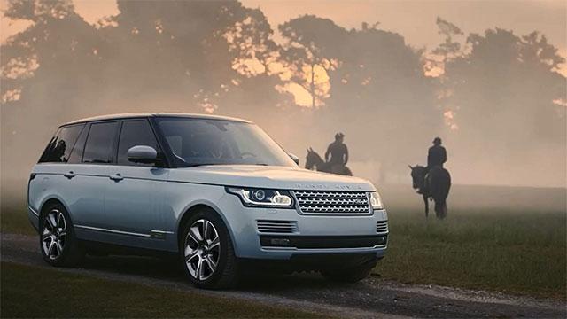Land Rover electric car