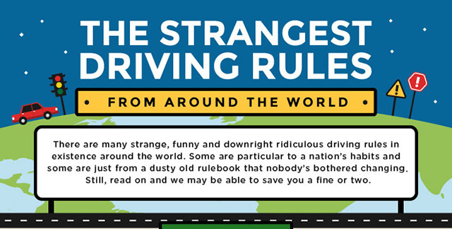 The Strangest Driving Rules