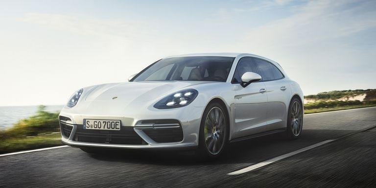 Porsche Announces Panamera Turbo S E-Hybrid Sport Turismo Plug-In Hybrid
