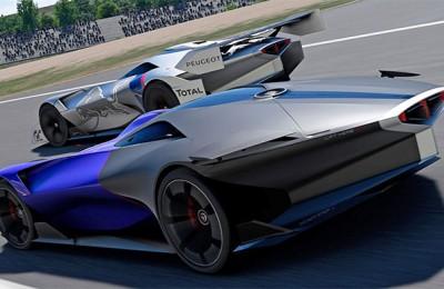 Peugeot L750 R Hybrid Vision Virtual Concept