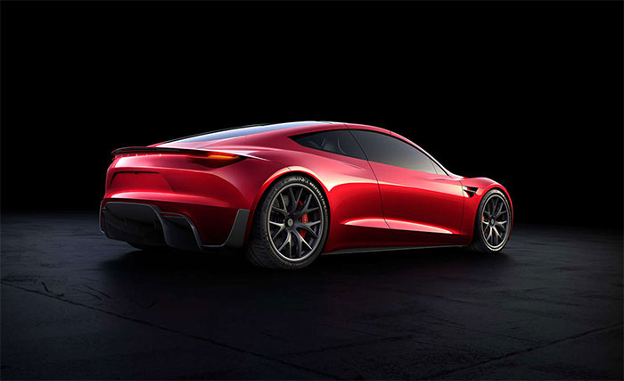 The Tesla Roadster Which Is Due To Arrive In 2020 Said Be Fastest Car World With Top Sd Of Over 250 Mph American Automotive