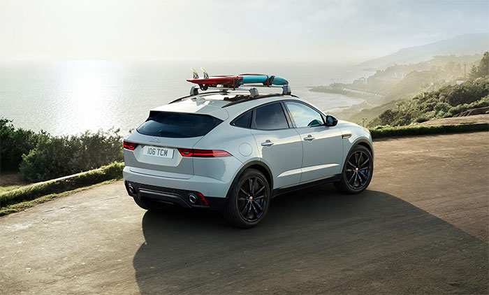 The 2018 Jaguar E-Pace
