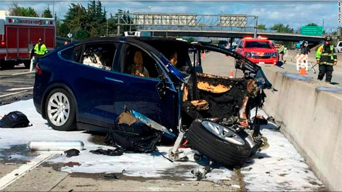 Tesla Model X had Autopilot on Before Deadly Crash