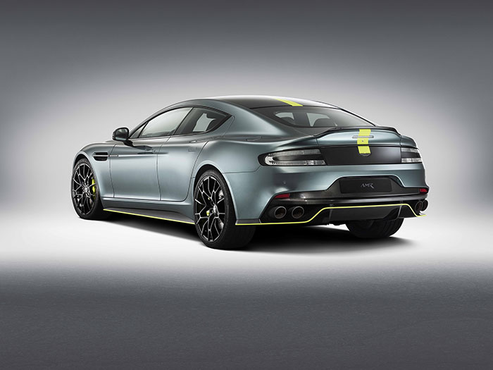 Aston Martin Rapide AMR Packed With A Range Of Features
