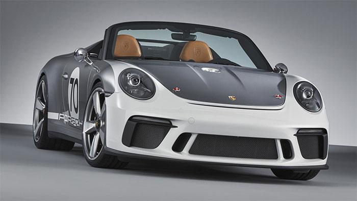 Porsche Unveils 911 Speedster Concept