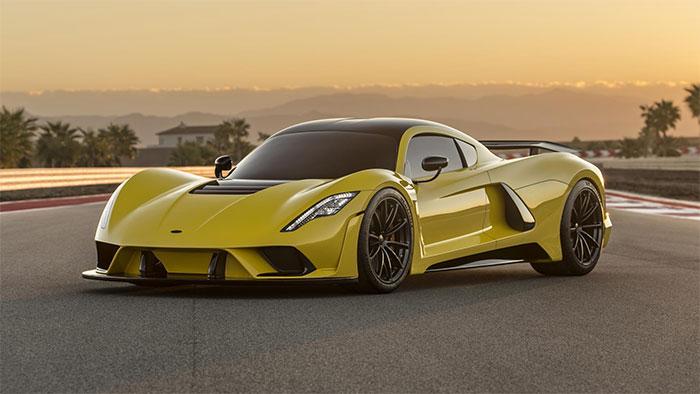 Hennessey Venom F5 Will Break All Records with 300 mph
