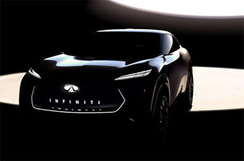 infiniti fully electric crossover