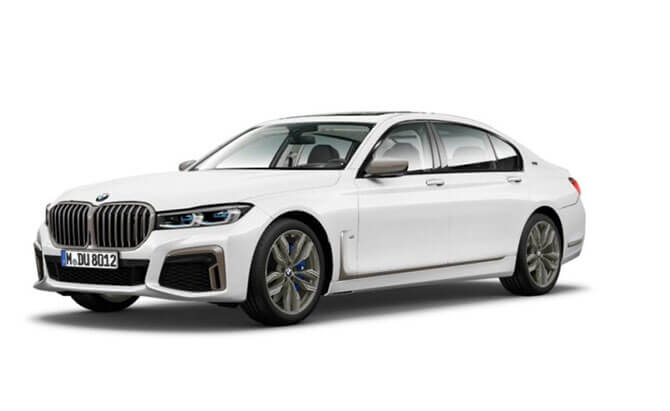2020 bmw 7 series shows its front in leaked images