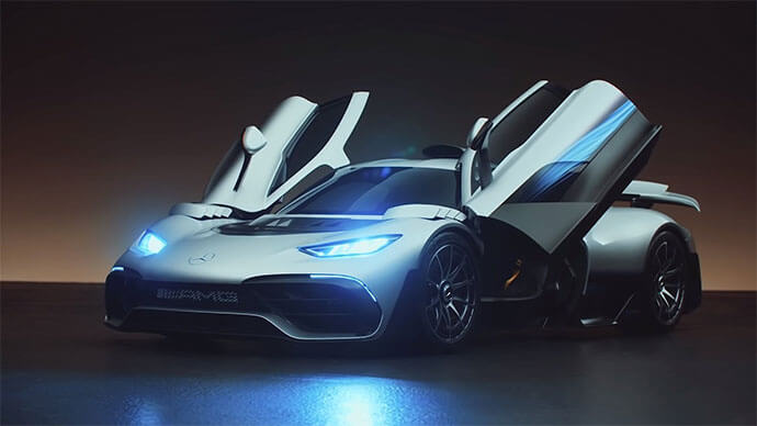 2020 mercedes-amg project one