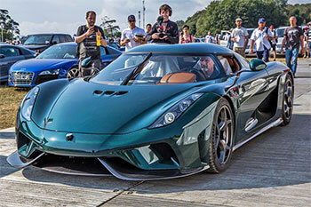 koenigsegg CO2 neutral' ignition supercar
