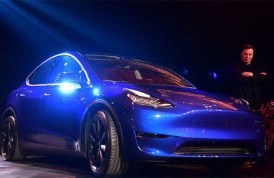 Tesla Shares Drop after Model Y Reveal